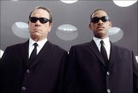 Los únicos hombres de negro están en el cine