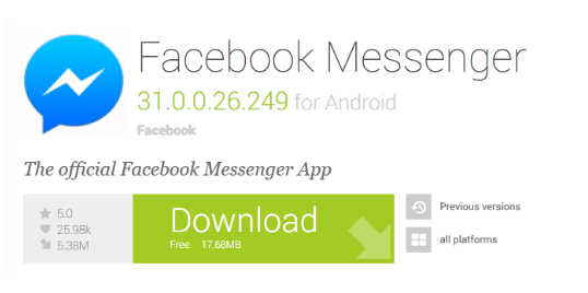 Downlaod Facebook Messenger