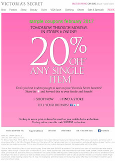 Victoria's Secret coupons february