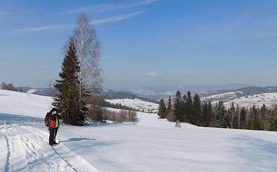 Widać już dolinę Poniczanki.