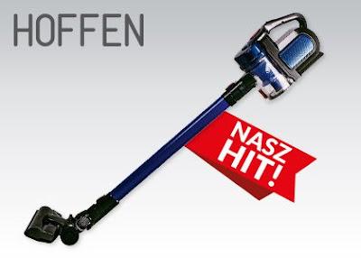 Odkurzacz bezprzewodowy Hoffen z Biedronki