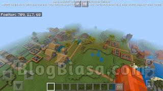 2 Desa & kota besar di minecraft pe ( pocket edition )
