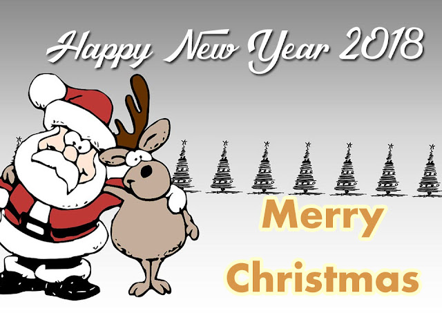 Merry Christmas  New Year 2018