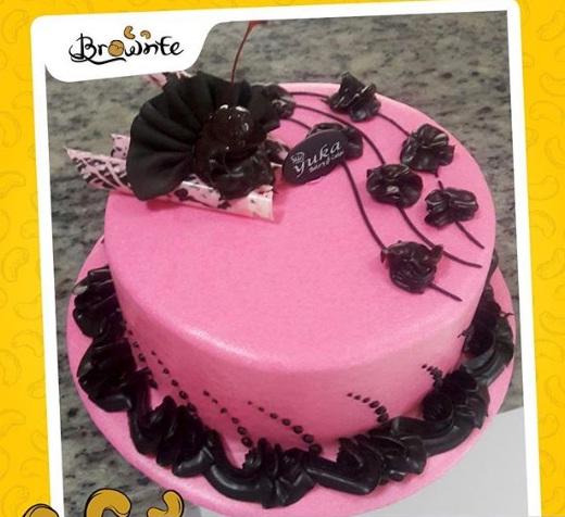brownte kendari birthday cake