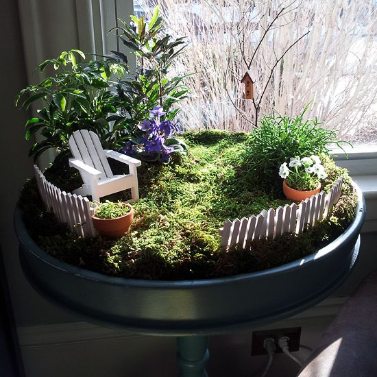 30 Of The Most Beautiful Free DIY Indoor Mini Garden Ideas