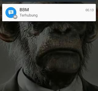 Setelah mengukuti Cara Mudah Mengatasi BBM Menyambungkan di Android dari Anonymbot.net