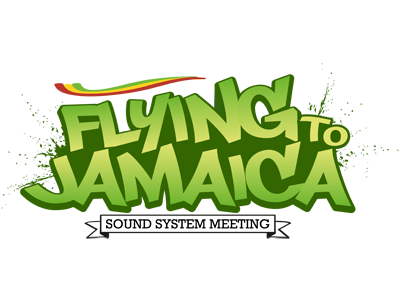 Crazy Youths Design Logo Flying To Jamaica V2