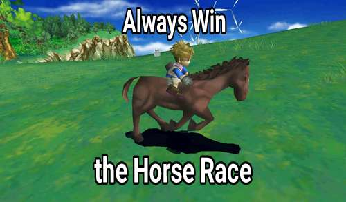 How to Always Win the Horse Race HM: HoLV