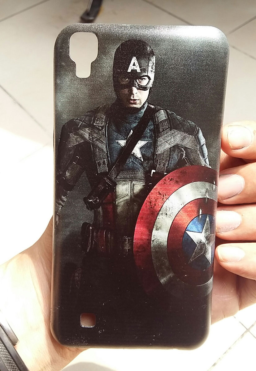 custom case captain america
