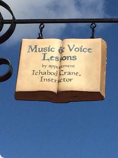 Ichabod Crane Music Lessons Disney World