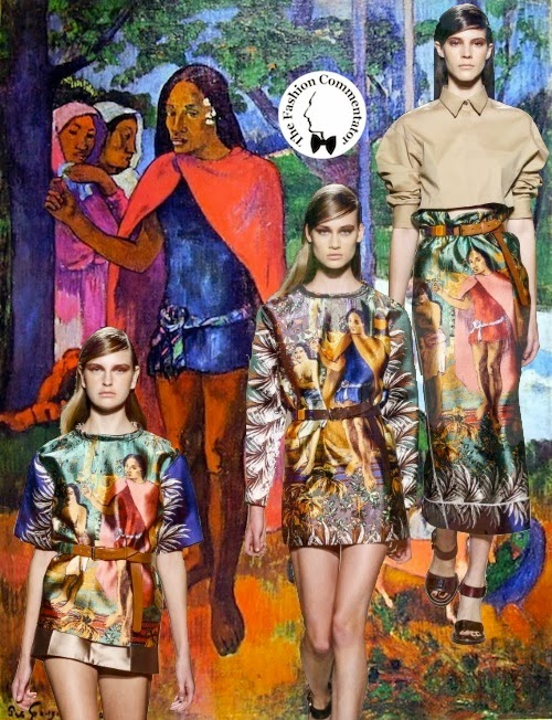 Aquilano Rimondi SS 2014 - Paul Gauguin references