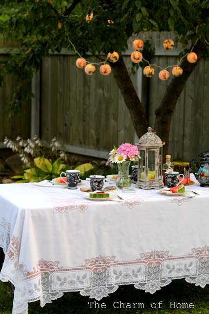 Mad Tea Party: The Charm of Home