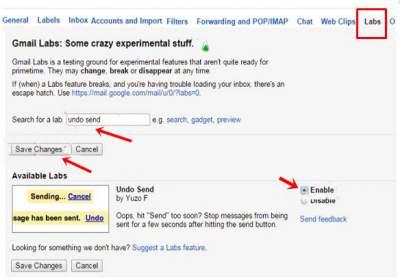 cara membatalkan email gmail yang terkirim