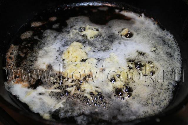 рецепт креветок со сливочным маслом и чесноком с пошаговыми фото