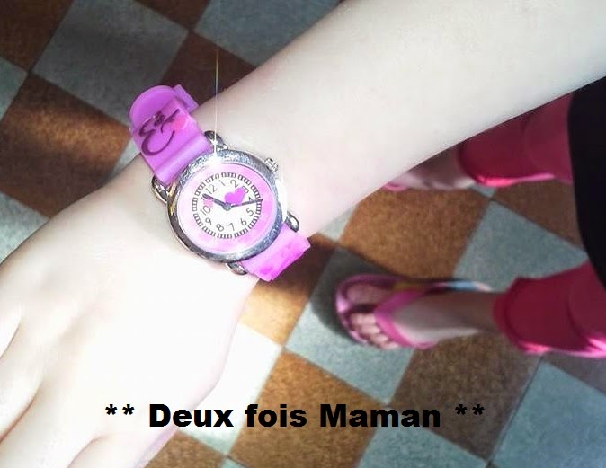 montre apprentissage