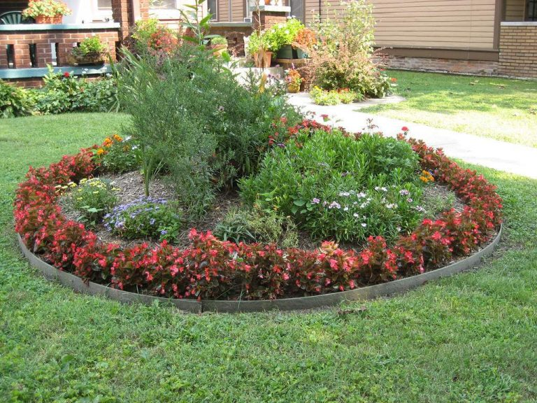 Diy Ideas To Make Round Flower Beds Decor Units
