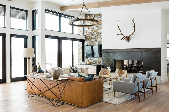 Mix and chic a modern mountain retreat in utah for Modern home design utah