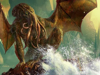 Artistic representation of Cthulhu