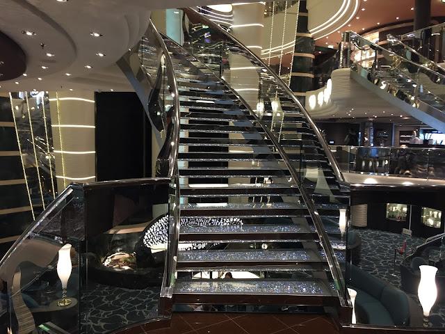 MSC Preziosa staircase