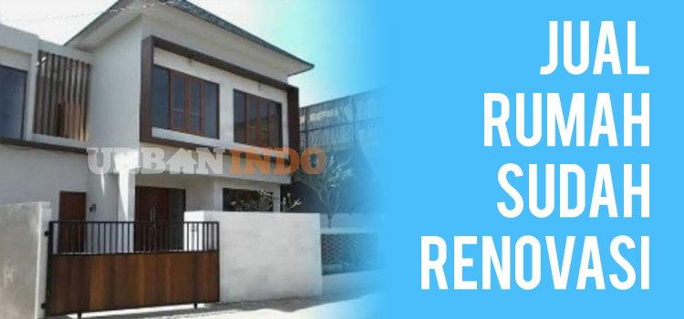 Jual Rumah Sudah Renovasi