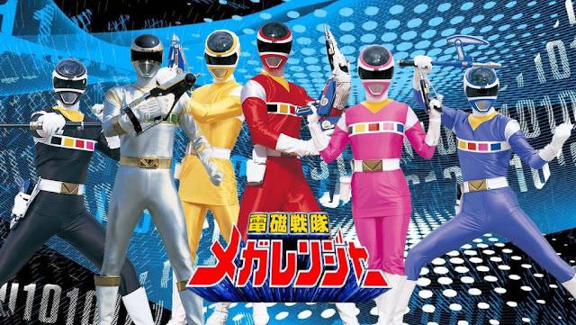 Denji Sentai Megaranger Sub Indo