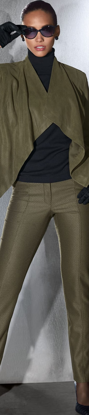 Madeleine Khaki Trousers and Jacket