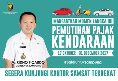 Kepastian Program Pemutihan Pajak Kendaraan Bermotor (PKB) di Provinsi Lampung Terjawab