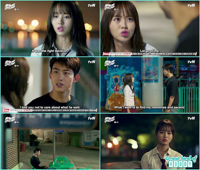 hyun ji refuse bong pal to go back - Let's Fight Ghost - Episode 11 Review