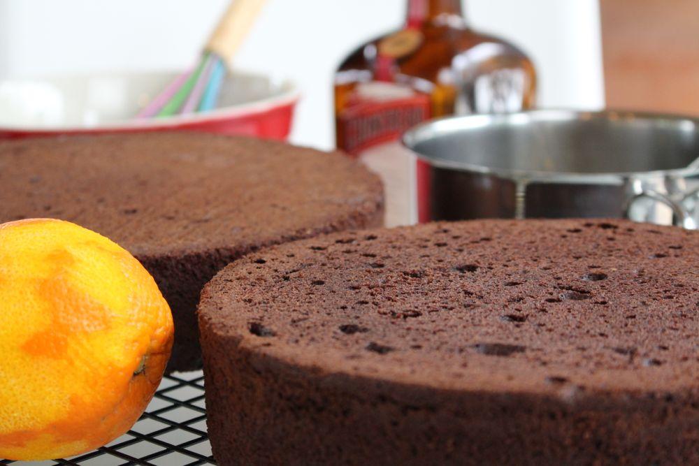 Grundrezept fr Motivtorten Victoria Sponge Cake