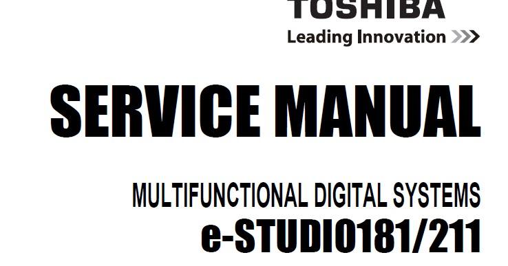toshiba estudio 181 service manual download service manual rh servicemanualguidepdf blogspot com toshiba e studio 181 technical manual toshiba studio 181 service manual