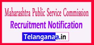 Maharashtra Public Service Commission (MPSC)Recruitment Notification 2017 last date  02-05-2017