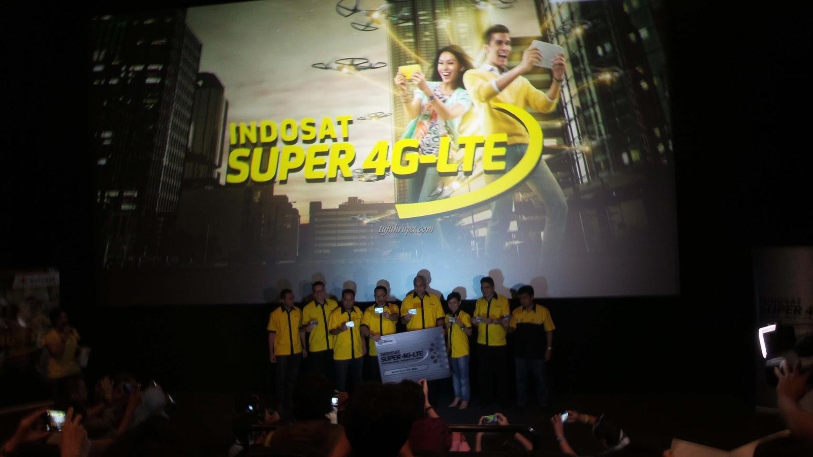 Peluncuran Super 4G LTE Indosat di Blitz Grand Indonesia