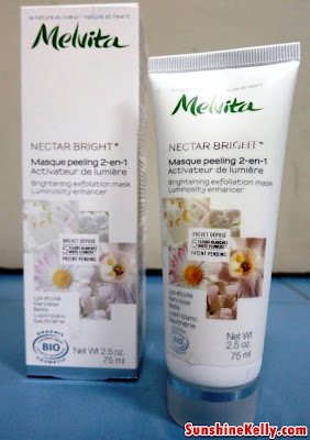face mask, melvita