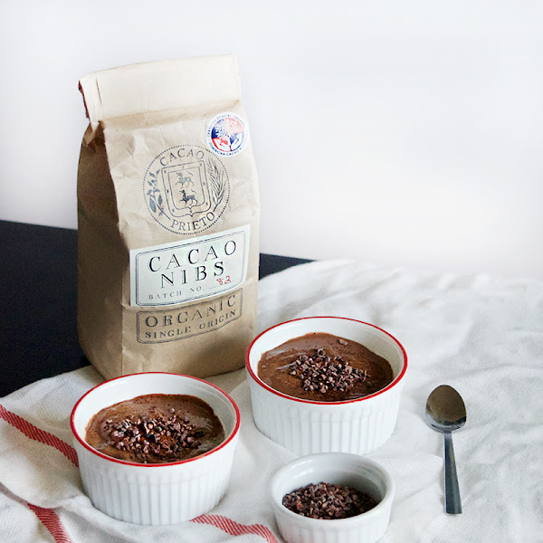 Cacao Nib Mexican Chocolate Pudding