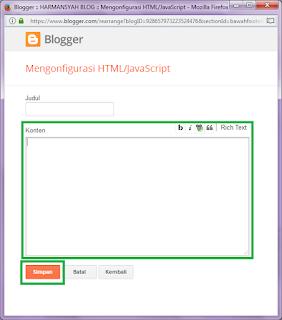 Gadget - Membuat Tab View Dengan CSS dan HTML di Blogger