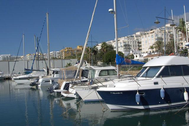 port, jachty Marbella