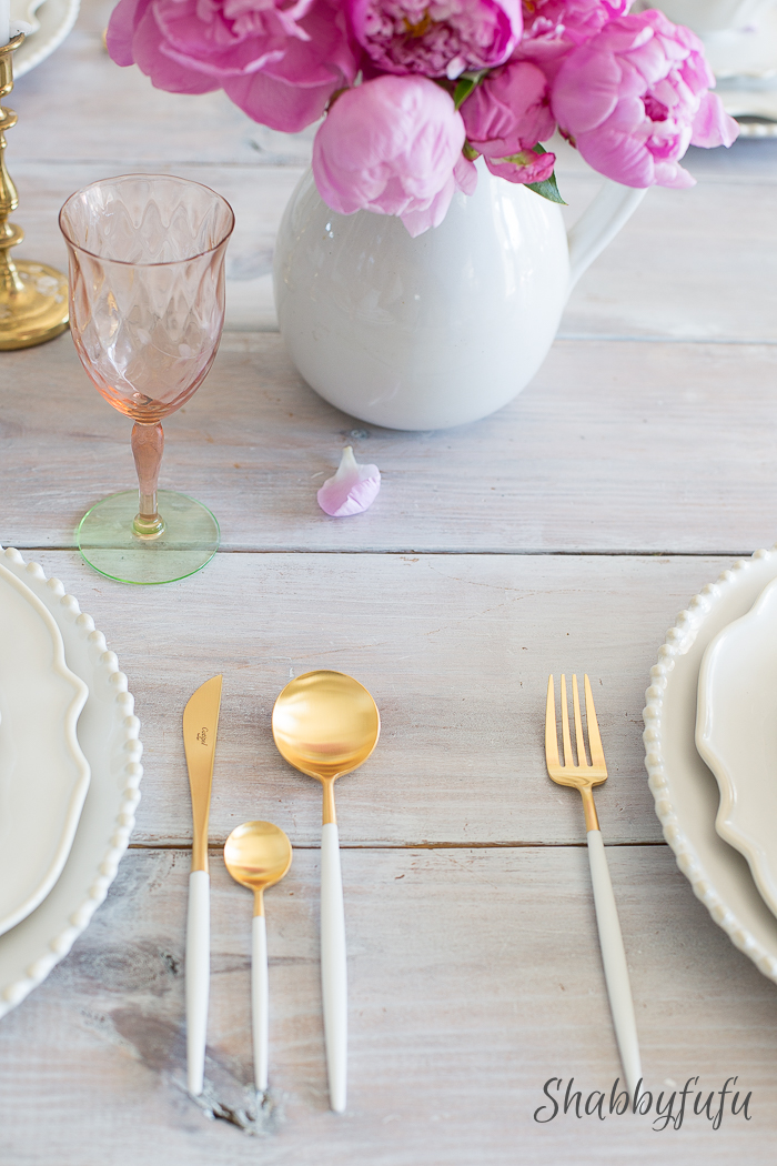 Love Of Simple Table Setting
