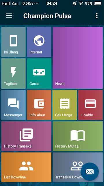 Aplikasi Jual Pulsa Untuk Android
