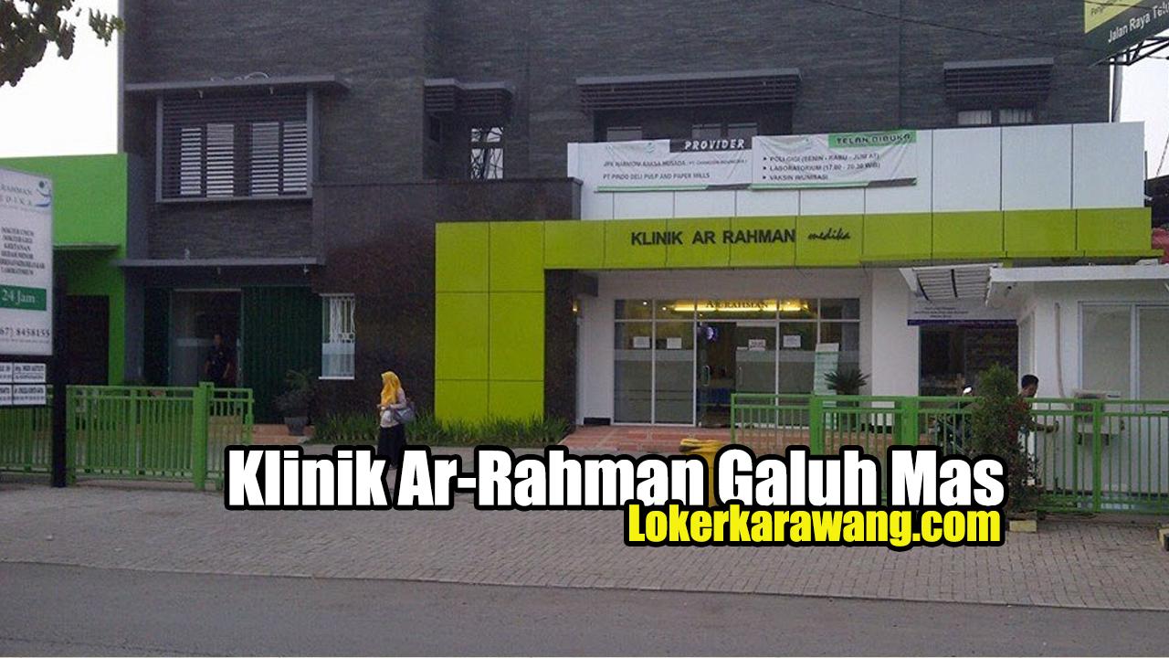 Klinik Ar-Rahman Galuh Mas