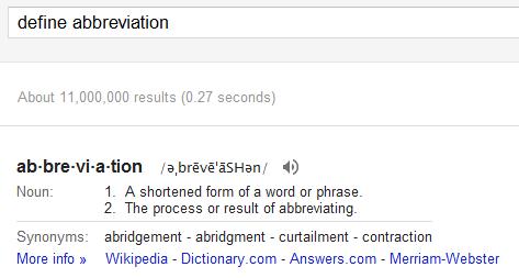 GoogleCanDo: Dictionary