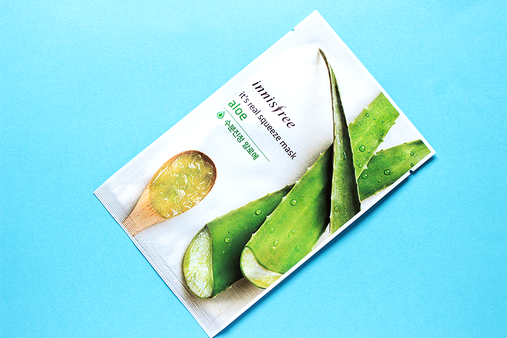 Innisfree It's Real Squeeze Mask Aloe review