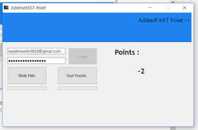 Cara Hack untuk Menambahkan Point di AddMeFast