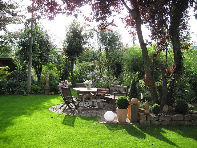 Zu Gast im Garten