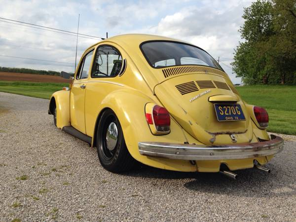 used 1972 vw beetle for sale by owner. Black Bedroom Furniture Sets. Home Design Ideas