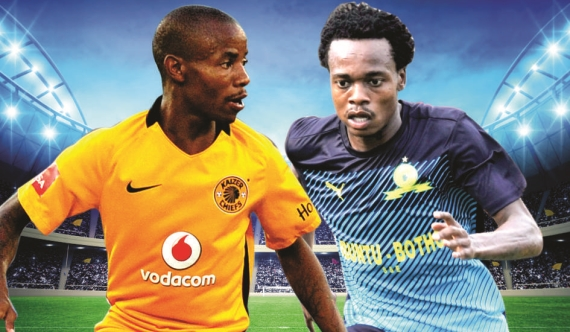 Kaizer Chiefs host Mamelodi Sundowns in a mouth-watering encounter at the FNB Stadium.