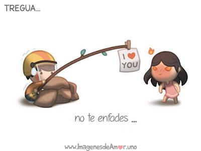 Imagenes de amor: no te enfades