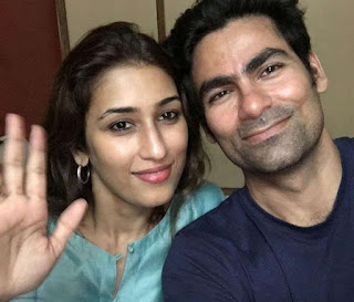 Mohammad Kaif With Wife