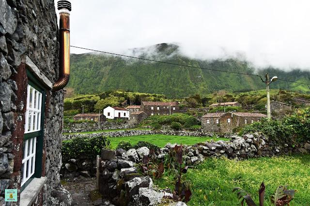 Aldeia da Cuada en Flores, Azores