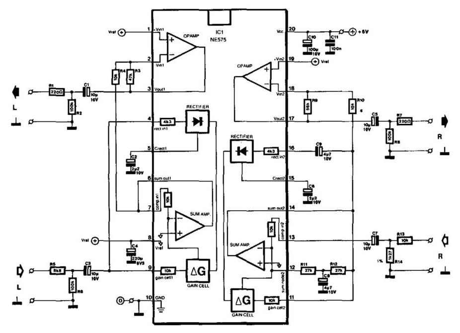 universal compander circuit diagram
