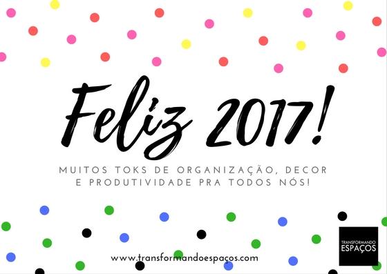 Ano novo, vida nova e casa organizada!